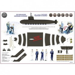 Sous-marin (s.n.a. classe rubis) à monter